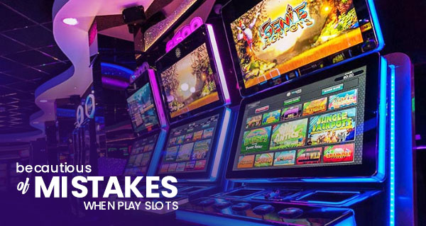 Don't Ignore These 4 Mistakes When You Play Online Slots